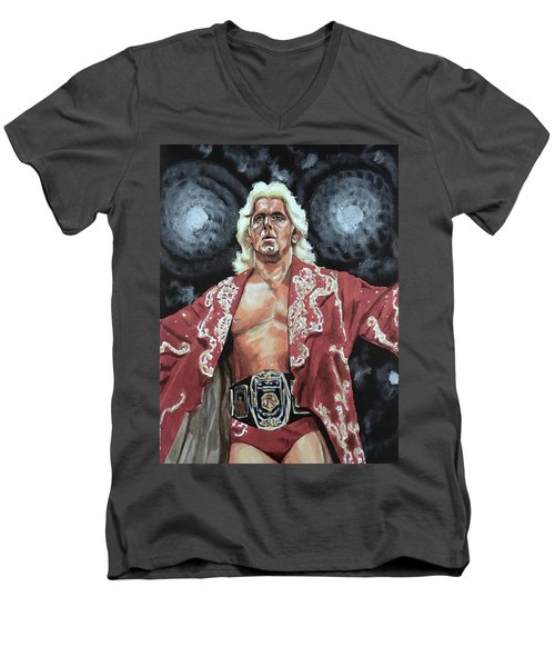 The Nature Boy Ric Flair Men's V-Neck T-Shirt