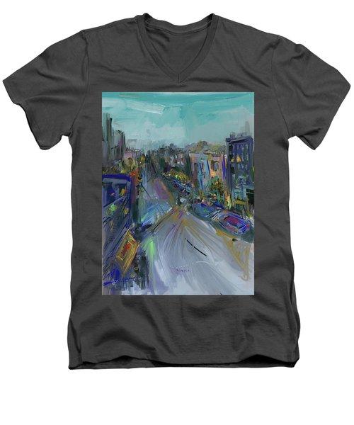 The Neighborhood Men's V-Neck T-Shirt