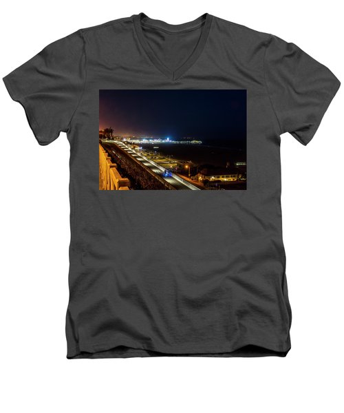 The New California Incline - Night Men's V-Neck T-Shirt