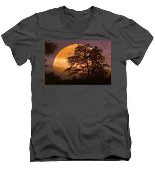 The Night Is Calling Men's V-Neck T-Shirt
