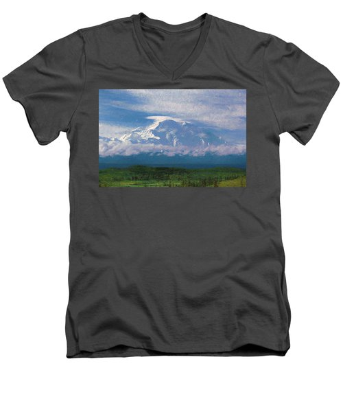 The North Face Men's V-Neck T-Shirt