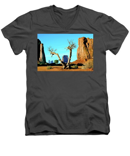 The North Window Men's V-Neck T-Shirt