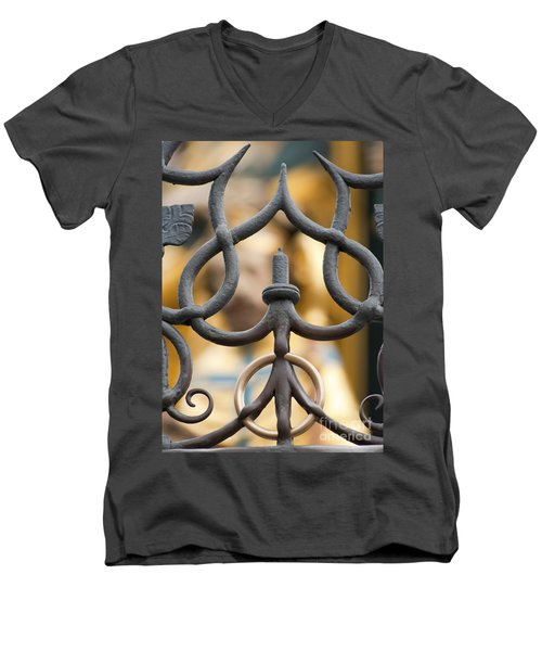 The Nuremberg Ring Men's V-Neck T-Shirt