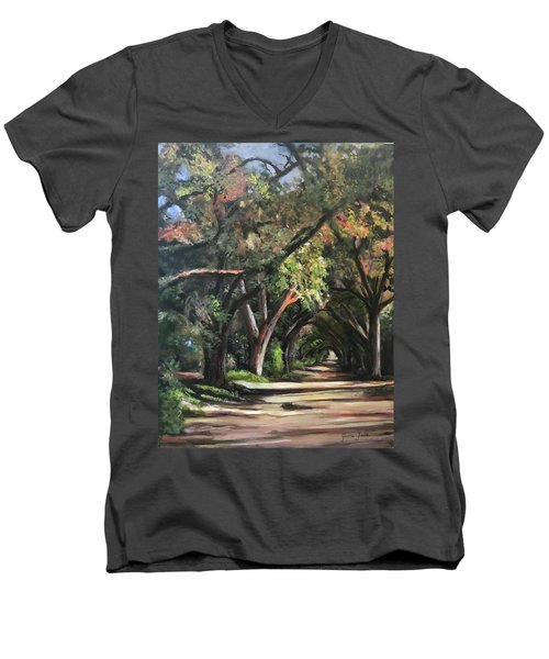 The Oaks Men's V-Neck T-Shirt