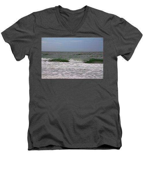 The Ocean In Motion Men's V-Neck T-Shirt