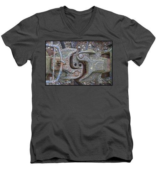 The Odd Coupler On Train Men's V-Neck T-Shirt