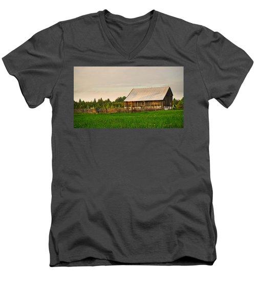 The Old Barn Men's V-Neck T-Shirt