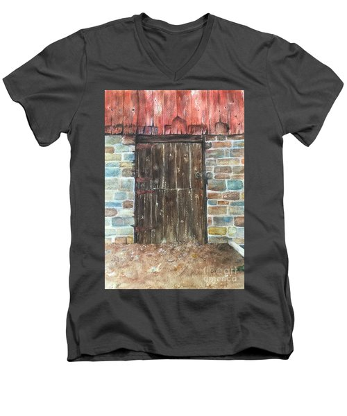 The Old Barn Door Men's V-Neck T-Shirt