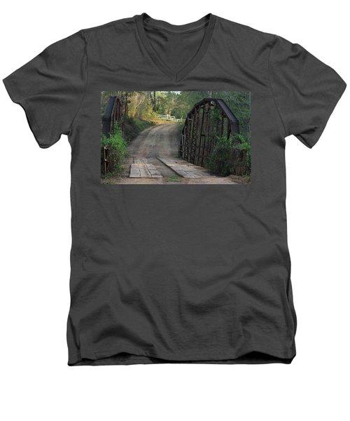 The Old Country Bridge Men's V-Neck T-Shirt