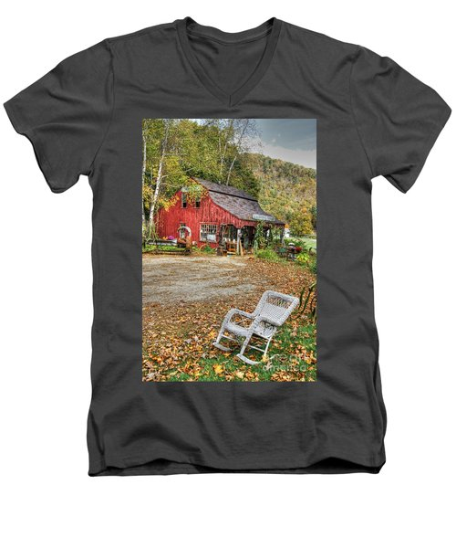 The Old Country Store Men's V-Neck T-Shirt