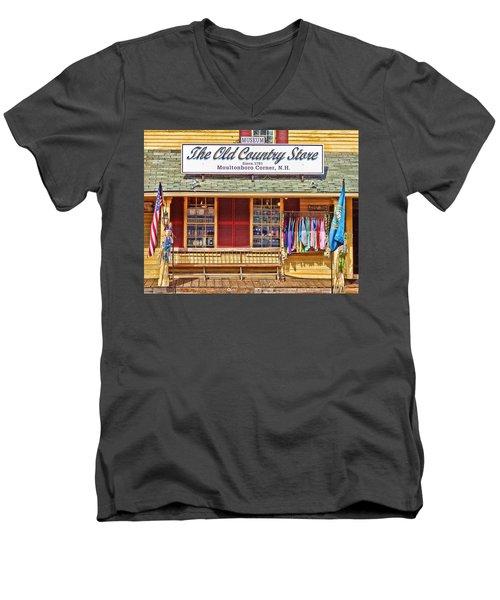 The Old Country Store, Moultonborough Men's V-Neck T-Shirt
