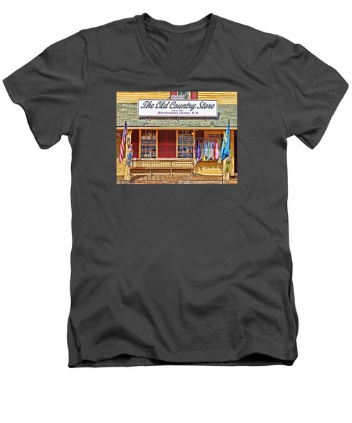 The Old Country Store, Moultonborough Men's V-Neck T-Shirt