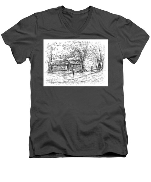 The Old Homeplace Men's V-Neck T-Shirt