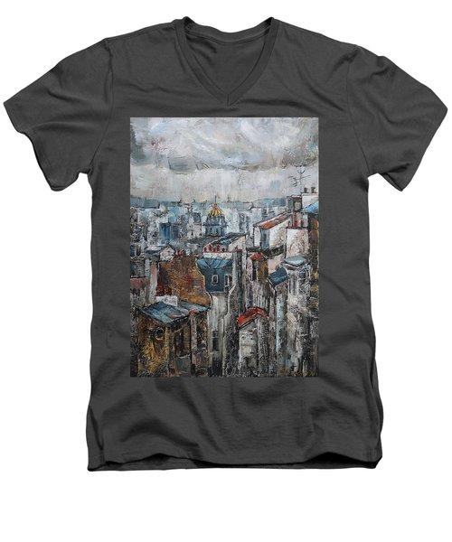 The Old Quarter II Men's V-Neck T-Shirt