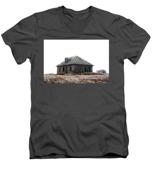 The Old Stone House Men's V-Neck T-Shirt