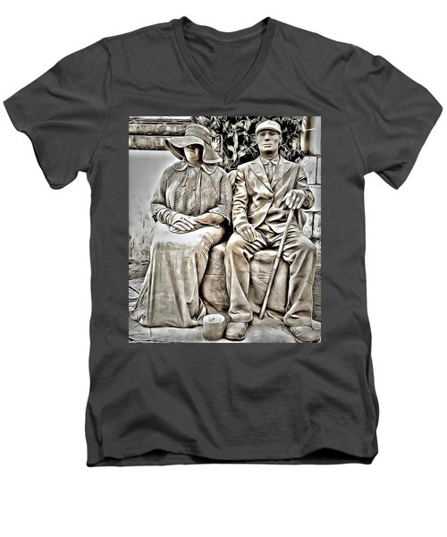 The Olders  Men's V-Neck T-Shirt