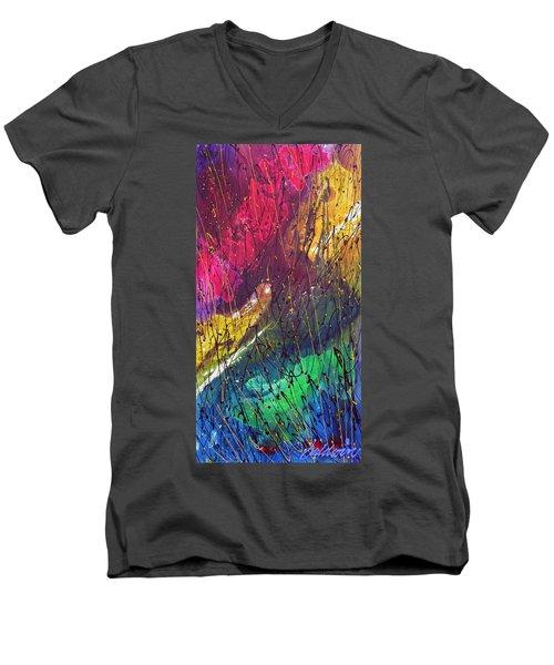 The Oldest Men's V-Neck T-Shirt