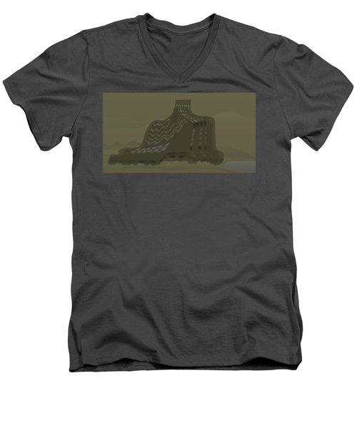 The Olive Citadel Men's V-Neck T-Shirt