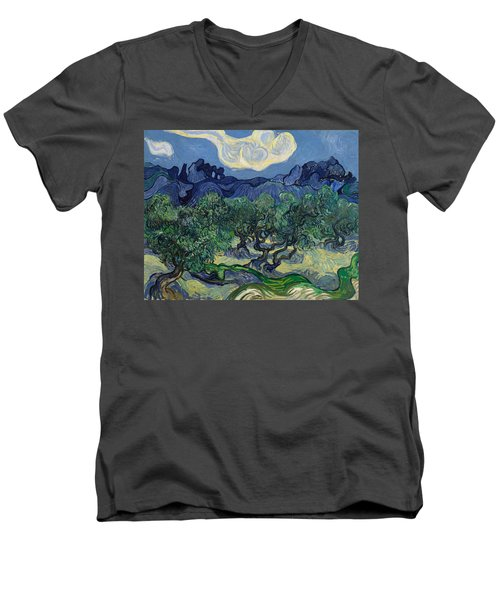 The Olive Trees Men's V-Neck T-Shirt