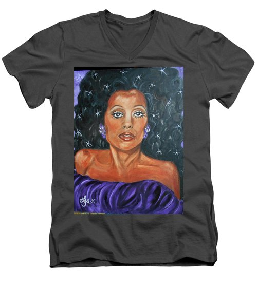 The One And Only Diana Ross Men's V-Neck T-Shirt
