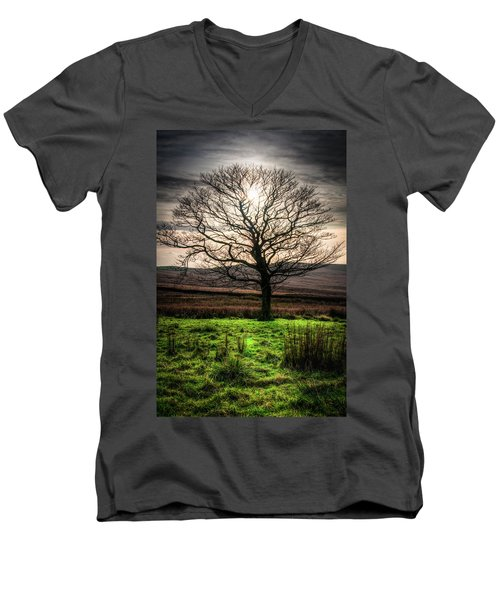 The One Tree Men's V-Neck T-Shirt