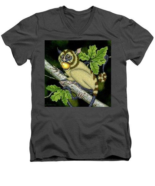The Orbler Men's V-Neck T-Shirt
