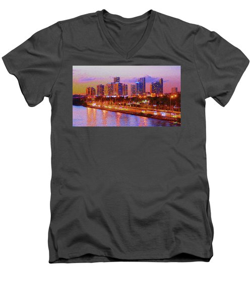 The Outer Drive Men's V-Neck T-Shirt
