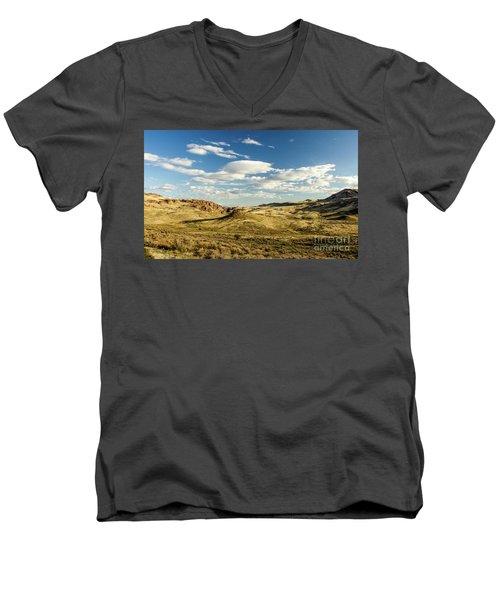 The Owyhee Desert Idaho Journey Landscape Photography By Kaylyn Franks  Men's V-Neck T-Shirt