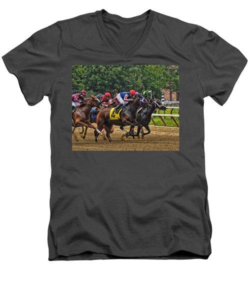 The Pack Men's V-Neck T-Shirt