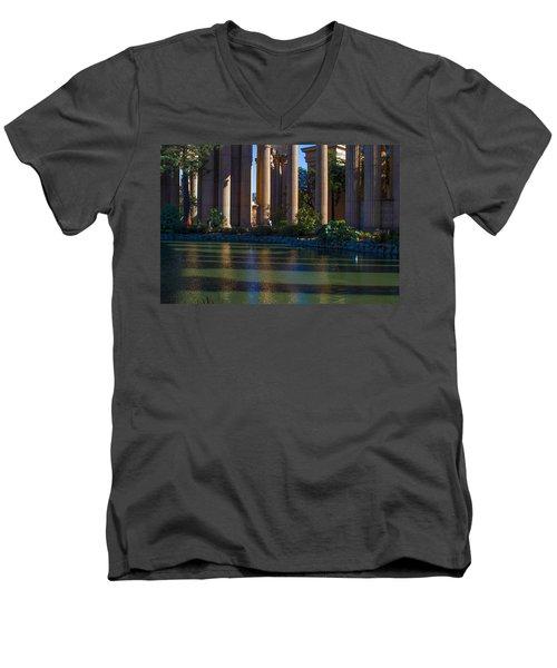 The Palace Pond Men's V-Neck T-Shirt