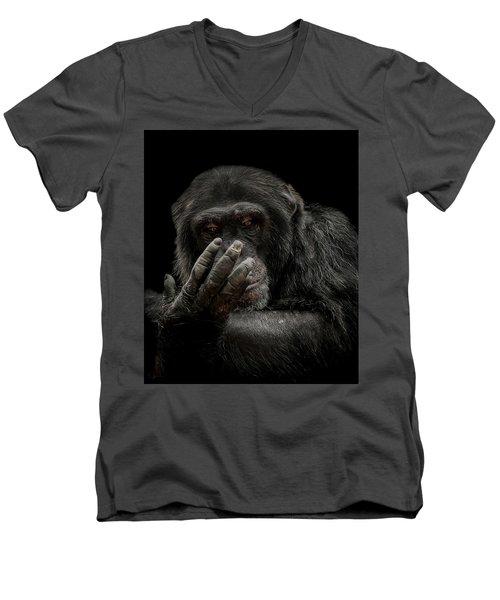 The Palm Reader Men's V-Neck T-Shirt