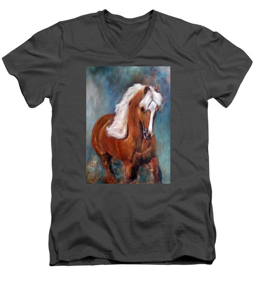 The Palomino 2 Men's V-Neck T-Shirt