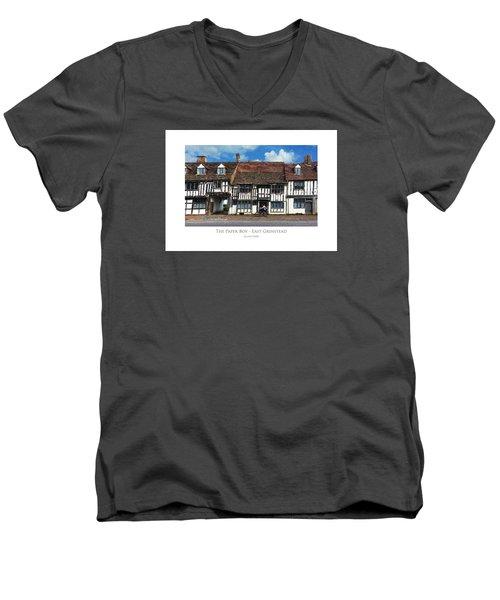 The Paper Boy - East Grinstead Men's V-Neck T-Shirt