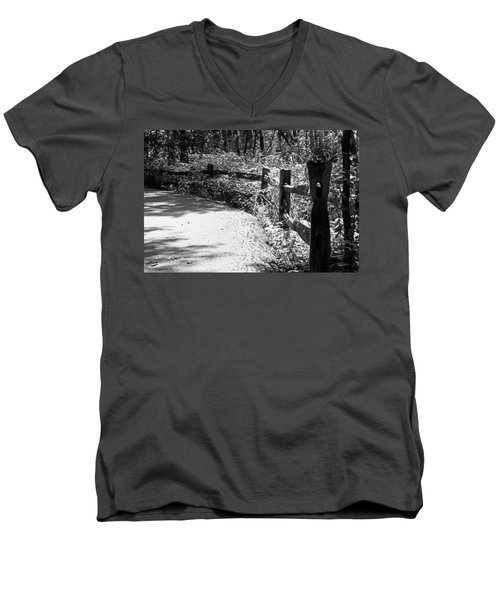 The Path Men's V-Neck T-Shirt