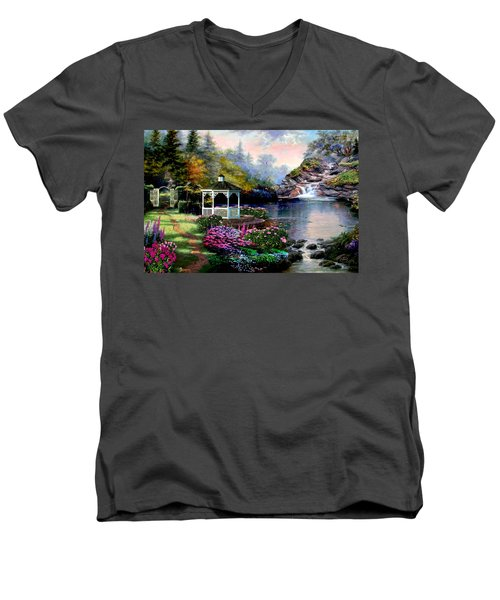 The Path Least Followed Men's V-Neck T-Shirt