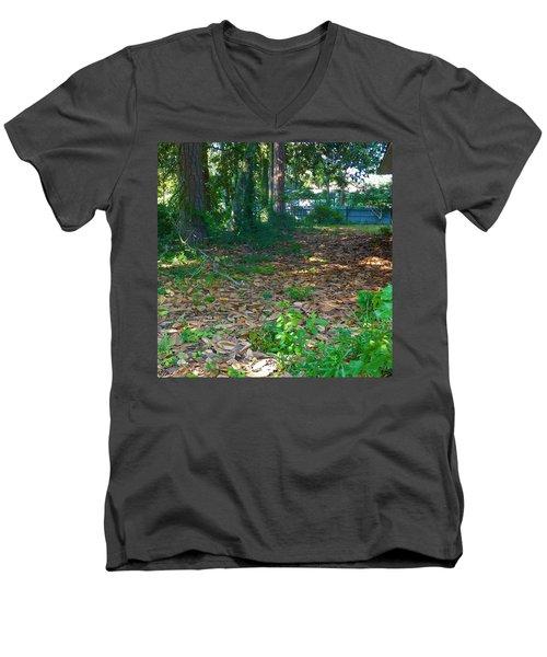 The Path Less Travelled Men's V-Neck T-Shirt