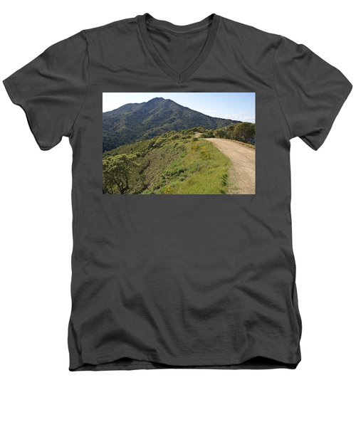 The Path To Tamalpais Men's V-Neck T-Shirt