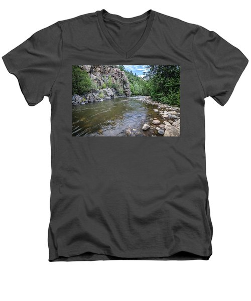 The Pecos River Men's V-Neck T-Shirt