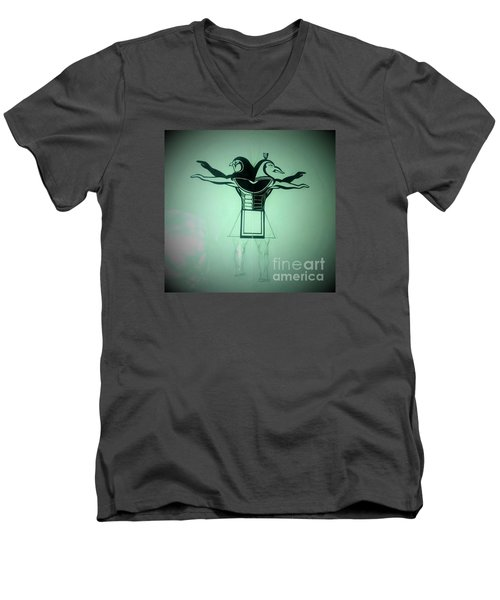 The Perfect Circling Of Your Square Men's V-Neck T-Shirt by Talisa Hartley