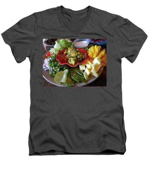 The Perfect Taco  Men's V-Neck T-Shirt