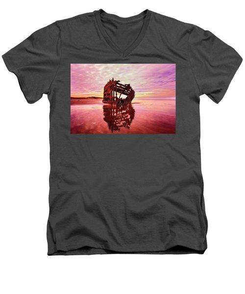 Peter Iredale Fantasy Men's V-Neck T-Shirt