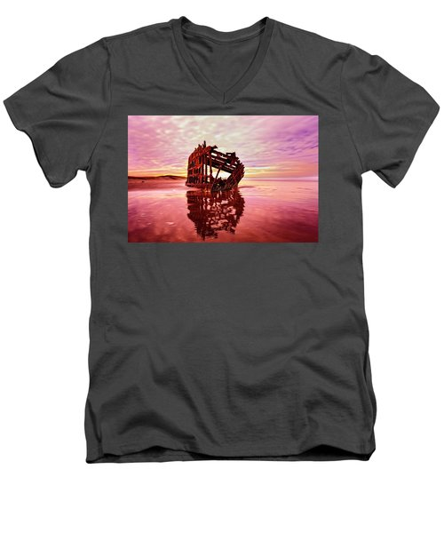 Peter Iredale Fantasy Men's V-Neck T-Shirt