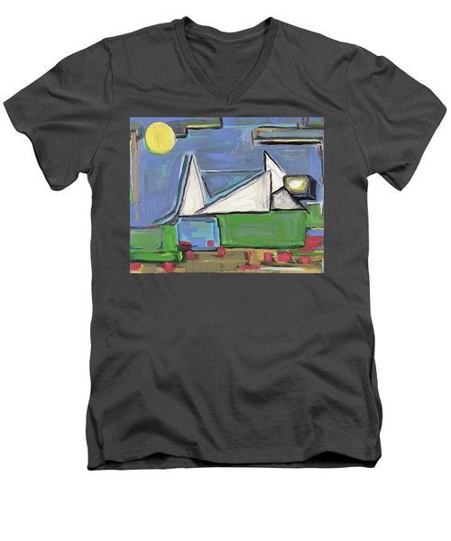 The Picnic Men's V-Neck T-Shirt