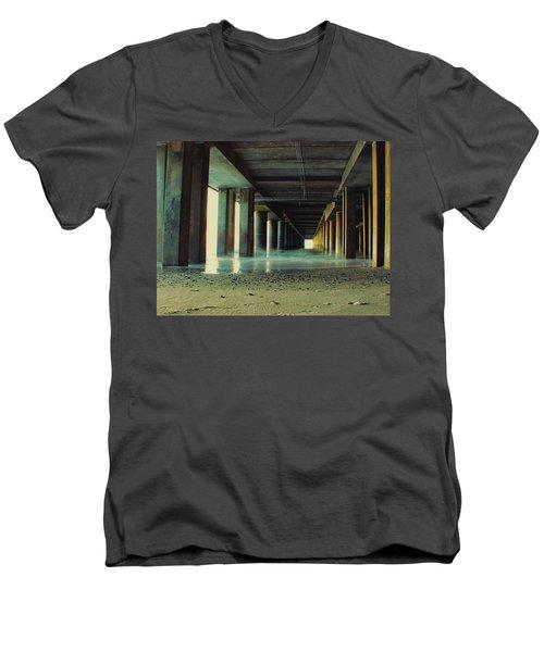 The Pier Men's V-Neck T-Shirt