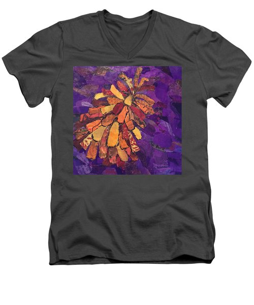 The Pinecone Men's V-Neck T-Shirt