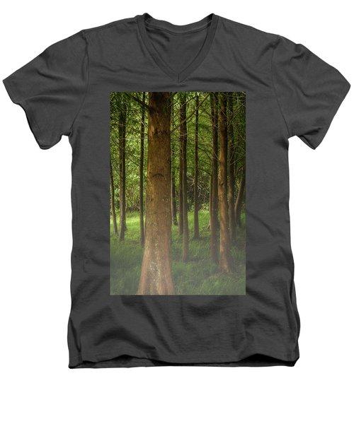The Pines Men's V-Neck T-Shirt
