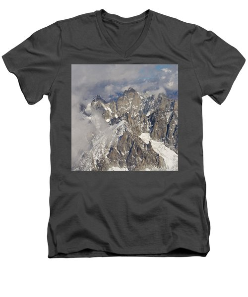 The Pinnacle Men's V-Neck T-Shirt