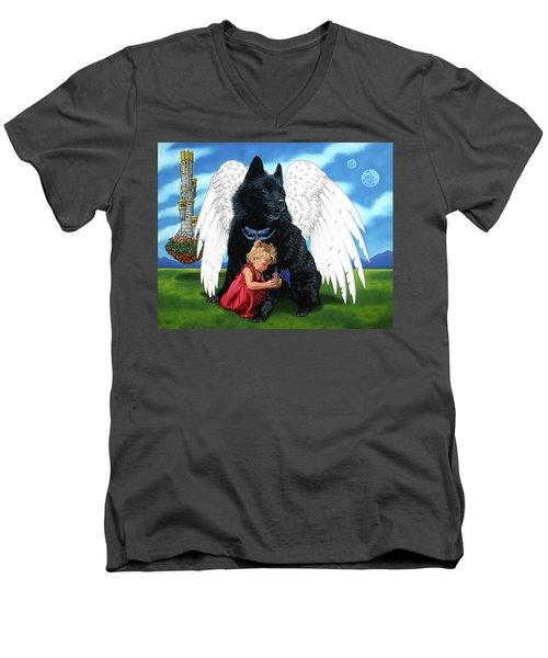 The Playmate Men's V-Neck T-Shirt