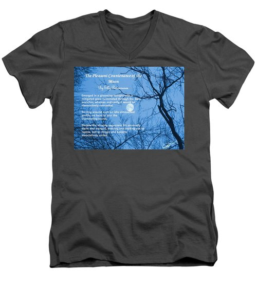 The Pleasant Countenance Of The Moon Men's V-Neck T-Shirt