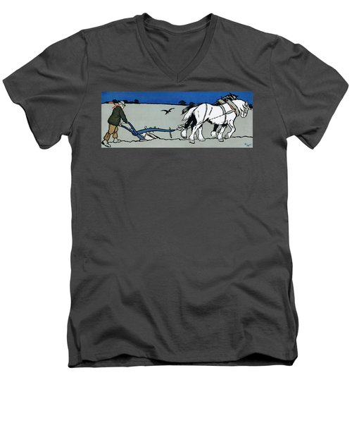 The Ploughman Men's V-Neck T-Shirt
